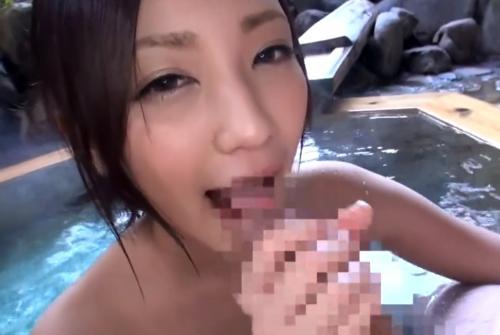 激カワの美少女と温泉ハメ撮り旅行!露天風呂でのバキュームフェラがエロい 桃谷エリカ